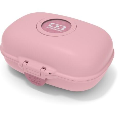 Fiambrera Monbento Gram infantil color rosa palo