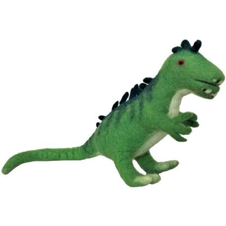 Dinosaurio Dufus de lana