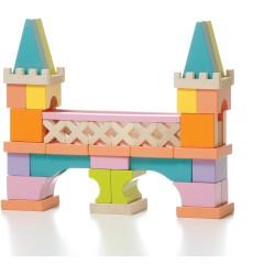 Set de bloques de construcción de madera - Puente (Bridge LO-1)