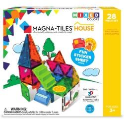 MAGNA-T HOUSE de 28 piezas de construcción magnética