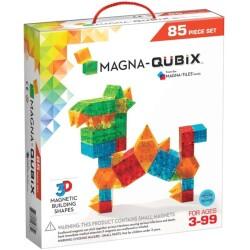 MAGNA-QUBIX de 85 piezas de construcción magnética