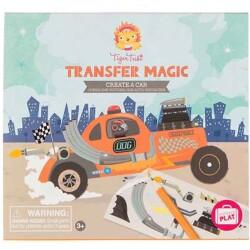 Láminas mágicas para crear tu propio coche de carreras