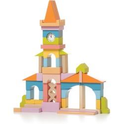 Set de bloques de construcción de madera - Ayuntamiento (Town Hall LV-1 (Station))