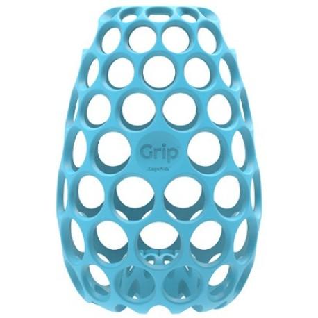 Funda o chaqueta Grip para biberón azul