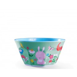 Bol de la vajilla del patio de casa (Dinnerware Backyard Friends Bowl)