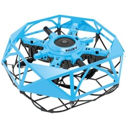 Mini drone volador Fly Dance controlable con las manos (azul)