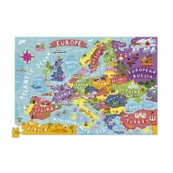 Puzle en caja 200 piezas - Europa (Puzzle Canister 200 p Europe)