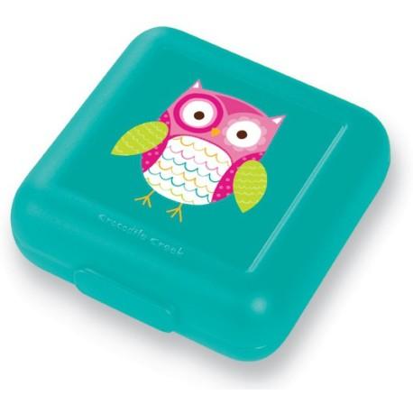 Fiambrera para sandwich (tupper) del búho (Sandwich Keeper/Owl)
