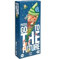 """Puzle de 100 piezas """"GO TO THE FUTURE"""""""