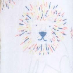 """Muselina de algodón """"leader classic swaddles"""" estampado leones"""