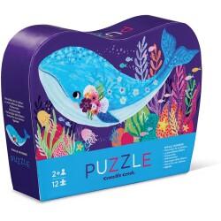Mini puzle de la ballena de 12 piezas