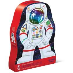 Puzle de 36 piezas del astronauta y el espacio