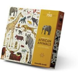 Puzle de 750 piezas del mundo de los animales africanos