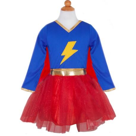 Disfraz superhéroe relámpago rápido (5-6 años)