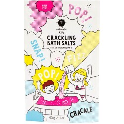 Sales de baño burbujeantes de color rosa