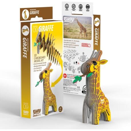 Puzle 3D Jirafa Eugy de Dodoland