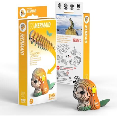 Puzle 3D Mermaid Eugy de Dodoland