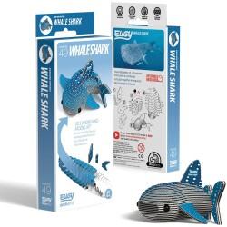 Puzle 3D Tiburón Ballena Eugy de Dodoland
