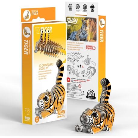 Puzle 3D Tigre Eugy de Dodoland