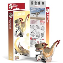 Puzle 3D Velociraptor Eugy de Dodoland