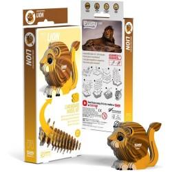 Puzle 3D León Eugy de Dodoland