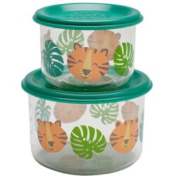 Set de 2 fiambreras pequeñas del Tigre