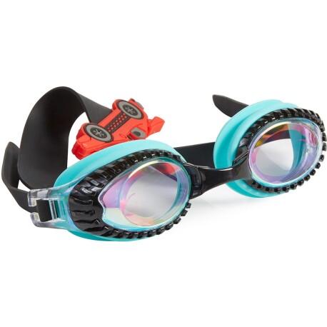 Gafas de natación DRAG RACE Retro Teal Slider