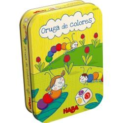 Juego de mesa: Oruga de colores