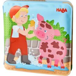 Libro para el baño del cerdo y la vaca