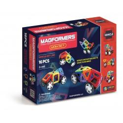 Set de construcción de vehículos (16 piezas magnéticas) - M-707004