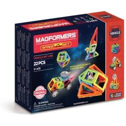 Set de construcción de vehículos espaciales (22 piezas magnéticas) - M-707009