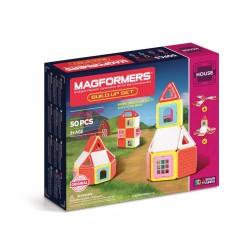 Set de construcción de edificios (50 piezas magnéticas) - M-705003