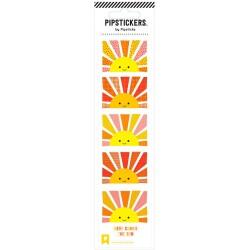 Hoja de pegatinas 5 x 20 PipStickers del Amanecer