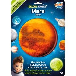 Adhesivo fluorescente de Marte