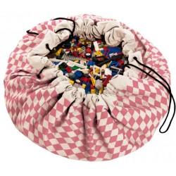 Sacos de juguetes Play & Go Diamond rosa - PG-49957