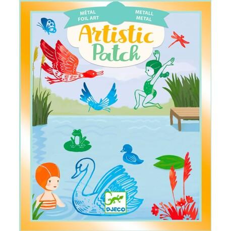 Set de láminas artísticas para personalizar del lago
