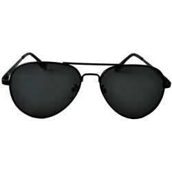 Gafas de sol de aviador Flynn Black