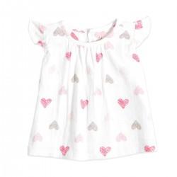 """Camiseta de manga corta de algodón """"sketch hearts"""""""