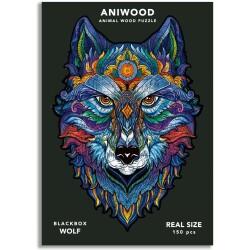 Puzle Aniwood Lobo M