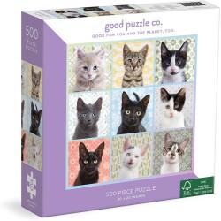 Puzle de 500 piezas Cat Portraits