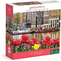 Puzle de 1000 piezas Flowers In Amsterdam