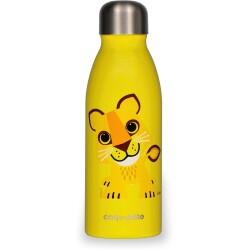 Botella de acero inoxidable de 500ml del León