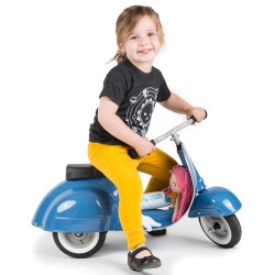 Moto scooter PRIMO classic azul