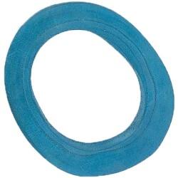 Aro de madera de color azul