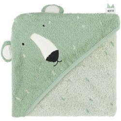 Toalla capa 75 x 75 cm del oso polar