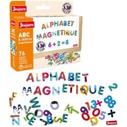 Set de 76 letras y números magnéticos