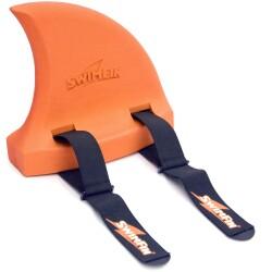 Aleta de tiburón flotante naranja