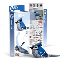 Puzle 3D Blue Jay Eugy de Dodoland