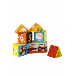 Farmhouse set of 6 cubes