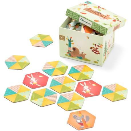 Forest memory game SW